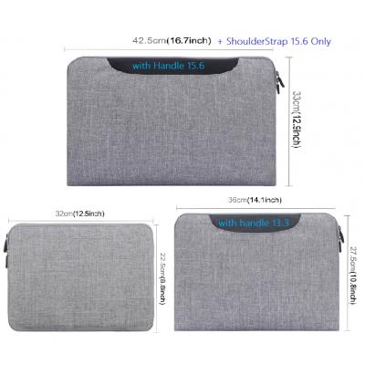 """100% Original Haweel Soft Sleeve Laptop Bag 11"""" 13"""" 15.6"""" Case Mac MacBook Air Pro"""