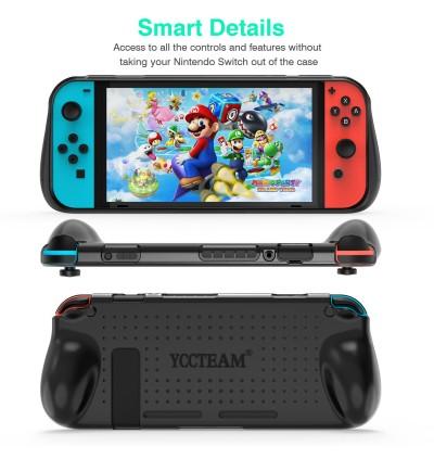 [100% Ori] YCC TPU Casing Nintendo Switch Protective Grip Case Cover