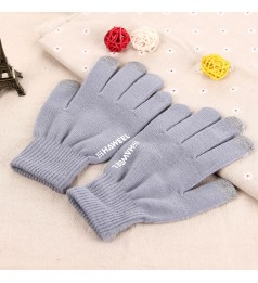 100% Haweel Winter Touch Screen Gloves Comfort Warmth Texting  (Grey)
