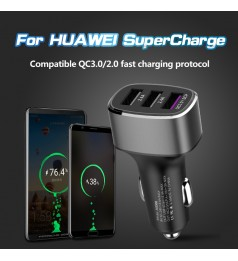 [Huawei PD/QC 3.0] 39W Huawei Super Charge Car charger Huawei Super Charge& QC3.0