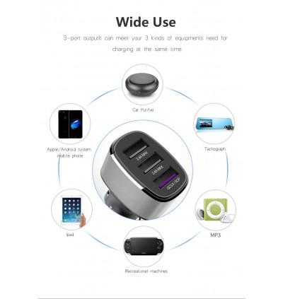 [Huawei PD/QC 3.0] 39W Huawei Super Charge Car charger Huawei Super Charge& QC3.0