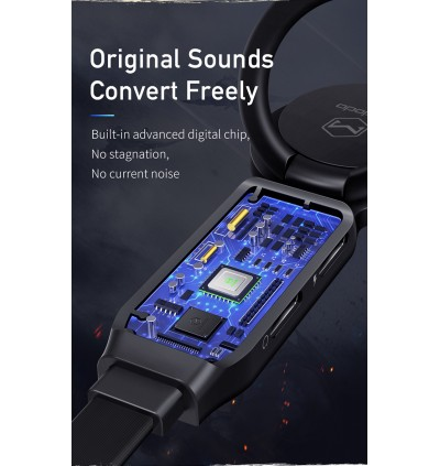 [MIC SUPPORT]MCDODO ORI RING MOBILE GAMING IPHONE AUDIO ADAPTER