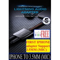 [EXP IPHONE 3.5MM MIC]MCDODO IPHONE 3.5 HIGH FIDELITY ADVANCE ADAPTER PUPG