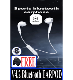 [V4.2 BLUETOOTH]MCDODO BLUETOOTH EARPHONE MIC SUPPORT 3D SOUND AIRPOD DESIGN