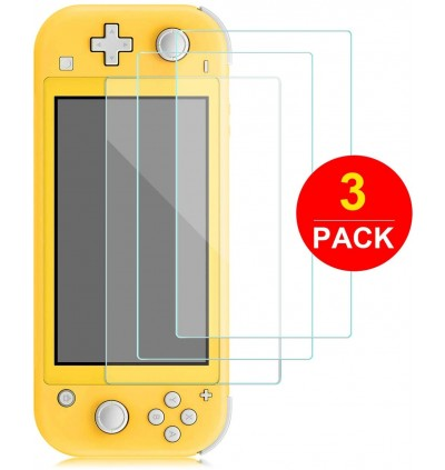 [2/3 PCS] Tempered Glass Screen Protector for Nintendo Switch Lite,Anti Fingerprints Hard Screen Film for Nintendo Switch Lite(2/3-Pack)