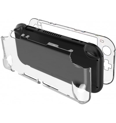 [SWITCH LITE]ULTRA-SLIM NINTENDO SWITCH LITE TRANSPARENT CLEAN CRYSTAL PROTECTIVE CLEAR HARD CASE COVER CASING