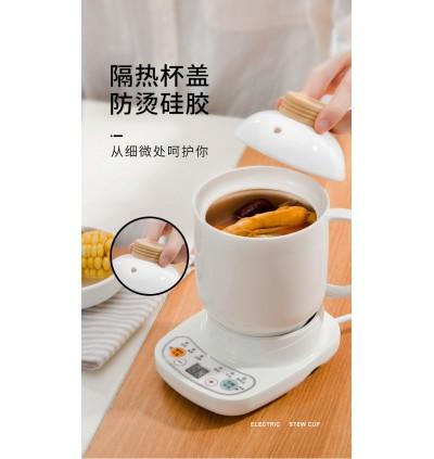 [MTS MINI]HEALTH CERAMIC SOUP POT ELECTRIC CUP BABY PORRIDGE BOILER COOKER