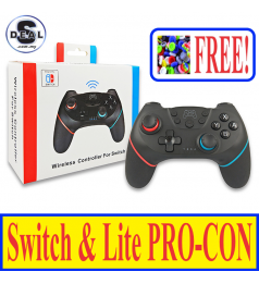 [PROHOST]Nintendo Switch & Switch Lite LASTEST Wireless PRO Controller LAG FREE