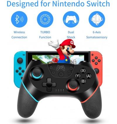 [PROHOST]Nintendo Switch & Switch Lite LASTEST Wireless PRO Controller LAG FREE