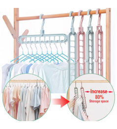 [Ready Stock] Multi-functional Magic Hanger Storage Clothes hanger