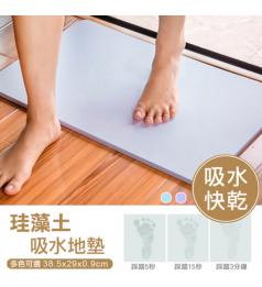 [Ready Stock] Bath Mat Quick-drying Anti-slip Pad Carpet