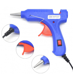 [Free 5 PCS Glue] 20W Mini Hot Melt Glue Gun FREE 5PCS GLUE STICKS Easy Use House Glue