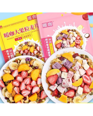[Buy1Free1]  Crunchy Mixed Fruits Oatmeal  Ready To Eat 400g 酸奶果粒麦片水果坚果燕麦片