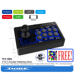 [ALL CONSOLE SUPPORT]DOBE Fighthing Arcade Stick Nintendo Switch PS4 XBOX Andoid Windows