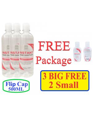 [FELTCAP Promotion] 500ML LDS MILANO HAND SANITIZER 70% ALCOHOL BUY 2 BIG FREE 1 SMALL