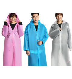 Waterproof Rain Coat Portable Unisex Rain Coat Suitable for Outdoor and Travel