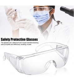 Transparent Safety Goggles Clear Safety Eye Protective Safety Anti Fog Glasses For Adult Kids