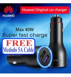 (ORIGINAL) HUAWEI 40W CAR CHARGER CP37 LATEST VERSION 10V4A SUPERCHARGE