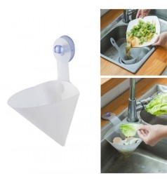 1PC Foldable Filter Simple Sink Self-Standing Stopper Kitchen Anti-Blocking Device