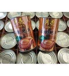 【月亮牌】红烧鲍鱼 BBQ 口味 8头鲍 6粒一罐 BBQ Abalone Moon Brand