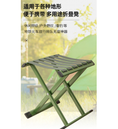 [Lemon Tree ] Balcony beach Folding Chair Kerusi Perkhemahan Boleh Lipat Fishing Nylon Chair