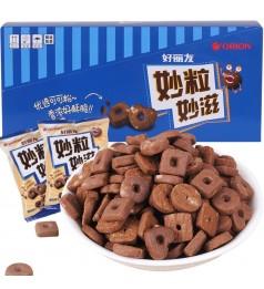 好丽友妙粒妙滋巧克力饼干 25g 小小的 超可爱