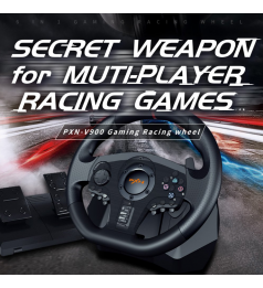 [PC & ALL CONSOLE]PXN V900 Game Steering Wheel for PC PS3 PS4 NS Switch Gaming Controller USB Vibration Dual Motor
