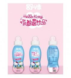 舒味Sanrio Hello Kitty吉蒂猫 软奶嘴营养乳酸菌饮品200ml x 1bottle Pacifier Yogurt Drink