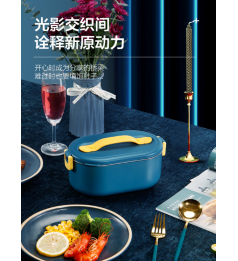 [Slimming Rice Box] 米栗熊 Milixiong Warm Up Rice Box 800 ML Big Capital 304 Standard Steel