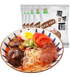【减肥代餐】魔芋面260g低卡0脂肪热量即食丝粉丝代餐方便速食面条主食食品  0 Fats Konjac Noodles
