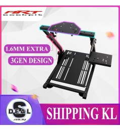 [Gen3] ART COCKPIT SIM RACING RACK GEN 3 X COCKPIT FOLDABLE STAND FANATEC THRUSTMASTER LOGITECH SIM MAGIC