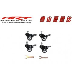 ART Racing Roller Wheel For X Cockpit Rack X 4 Pcs