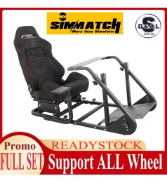 [FULL SET] COCKPIT SIM RACING RACK GEN 3 X COCKPIT FOLDABLE STAND FANATEC THRUSTMASTER LOGITECH SIM MAGIC