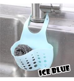 Sink Faucet House Cradle Adjustable Kitchen Dish Shelving Rack Sponge Hanging Drain Holder Storage Basket
