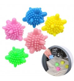Magic Washing Machine Laundry Ball Decontamination Anti-winding Wash Ball Sea Star Solid Cleaning Ball RANDOM COLOR
