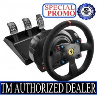 [LIMITED EDITION] THRUSTMASTER T300 FERRARI EDITION PS4 PS5 PC RACING WHEEL OFFICIAL PLAYSTATION 4 , 5