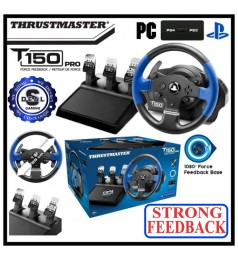 [AUTHORIZED SELLER] Thrustmaster T150 STRONG FEEDBACK Steering Wheel PS3 PS4 PS5 PC SUPPORT ALL IN ONE