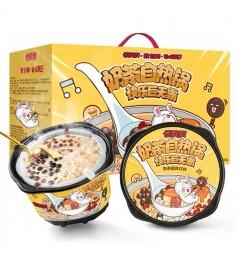 香飘飘 奶茶火锅自热锅 懒人自煮 聚餐 方便速食冲泡饮品 Milk Tea Hot Pot Self-heating Pot Dessert (1pcs)