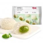 百草味 爆浆麻薯团子120g 雪媚娘糕点 休闲零食 糯米糍小吃 香芒味、抹茶