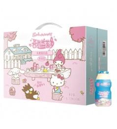 SANRIO HELLO KITTY吉蒂猫 软奶嘴营养乳酸菌酸甜可口饮品 100ML/PCS