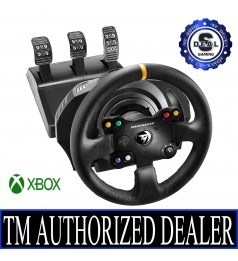 [MY WARRANTY] Thrustmaster TX-RW Leather Edition GAMING Steering Wheel XBOX PC SUPPORT