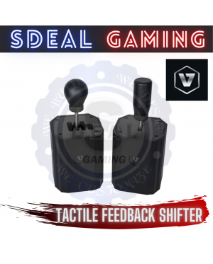 [TACTILE FEEDBACK] VNM SHIFTER + SEQV2 TACTILE PLATE + 7 SPEED MANUAL FULL ALUMINIUM BUILD GEARBOX