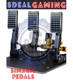 [NEW S2000] SIMAGIC HYDRAULIC LOADCELL SENSOR PEDALS FULLY ADJUSTABLE