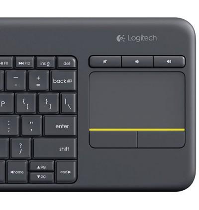 LOGITECH K400 WIRELESS TOUCH PAD KEYBOARD SIM RACING PC & TV