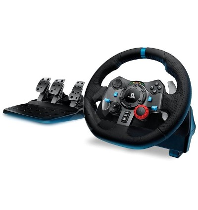 [LOCAL WARRANTY SET] G29 LOGITECH DUAL MOTOR FEEDBACK DRIVING FORCE GAMING RACING WHEEL WITH RESPONSIVE PEDALS FOR PC PS3 PS4