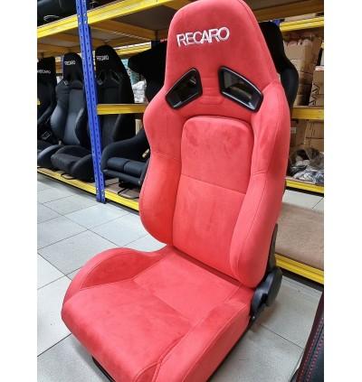 RCR SEMI / FULL BUCKET CAR SEAT RECARO ALCANTARA LEATHER PU SEAT